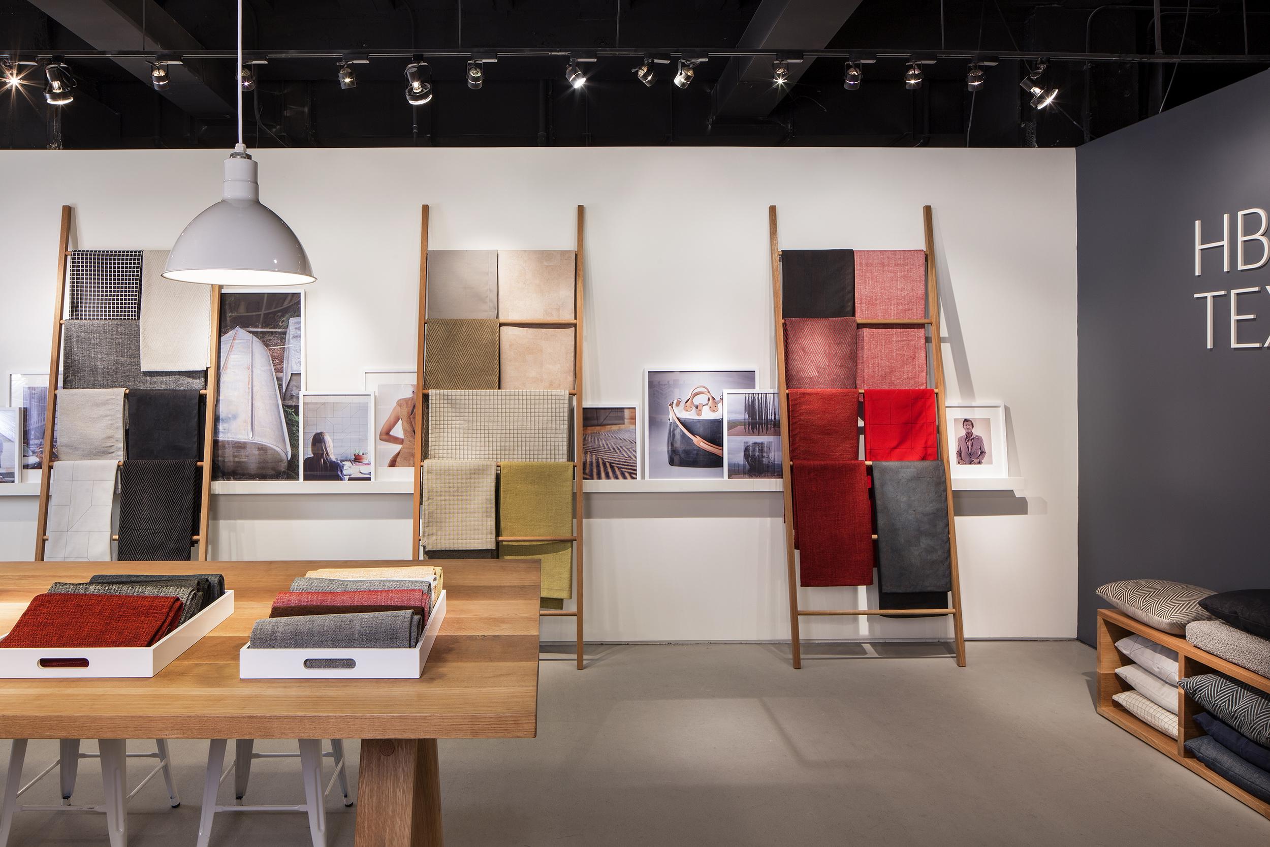 HBF Textiles NeoCon 2015 Showroom