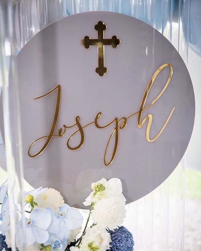 Joseph's Christening setup  Stylist @s.sevents Venue @olivetoristorante  Images @jesselukephotography