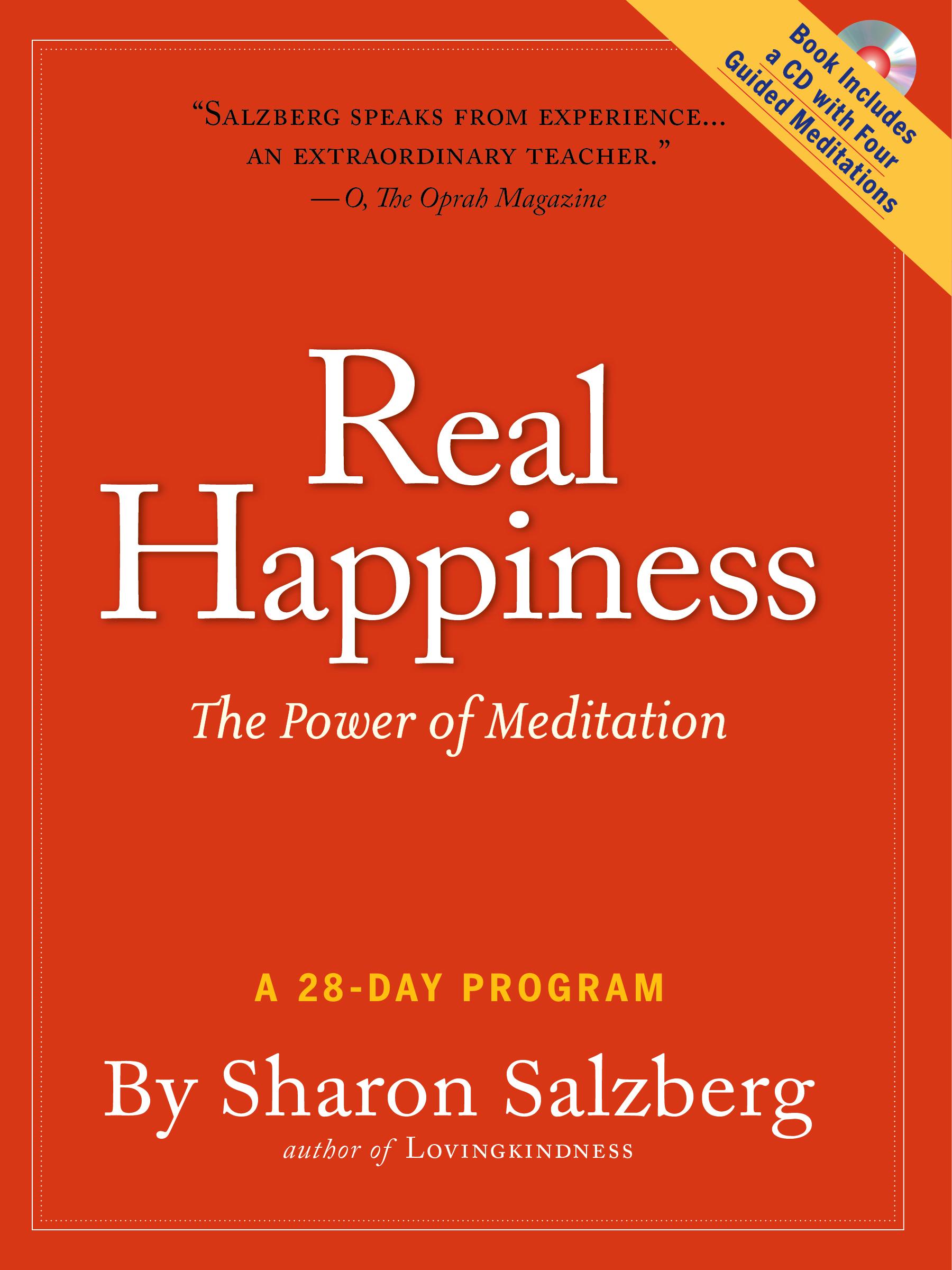 Real Happiness Sharon Salzberg