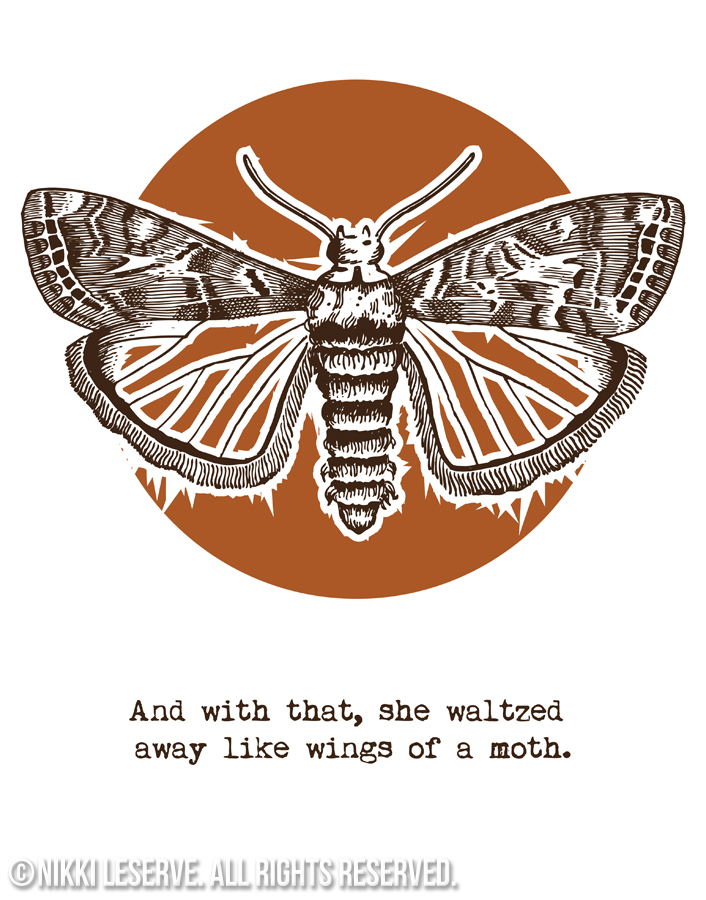 Wings of a Moth