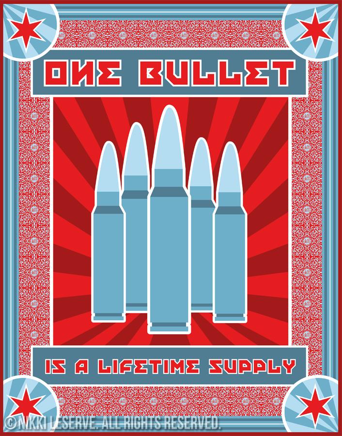 Gun Violence Poster