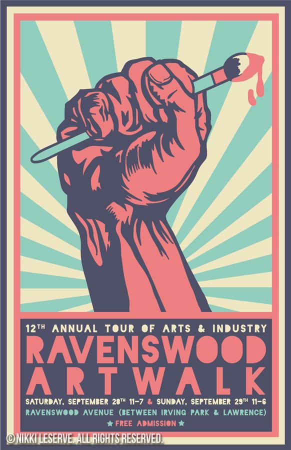 Ravenswood Artwalk Poster