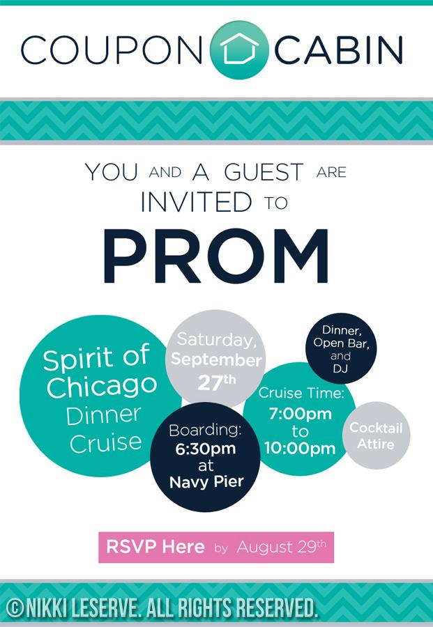 CouponCabin Prom Invite