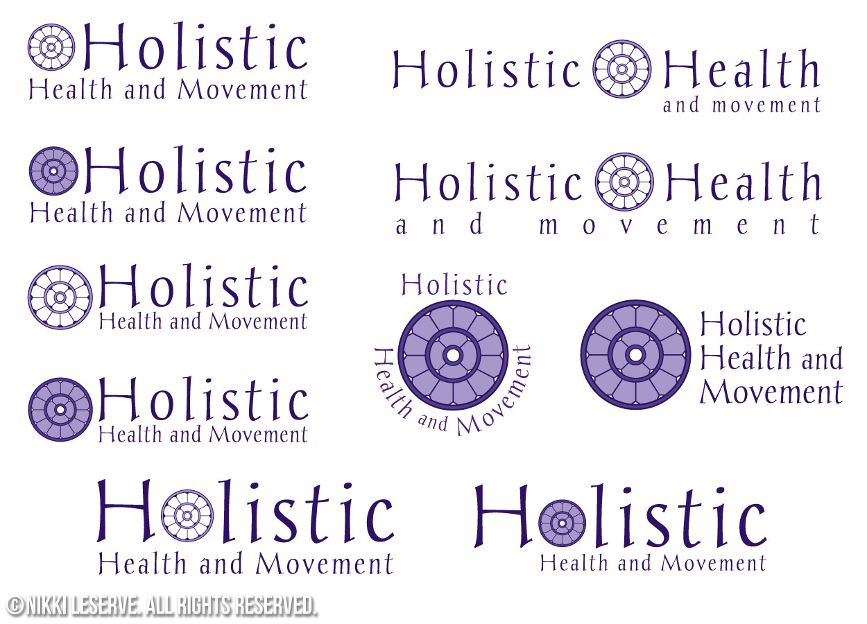 Holistic Logo Variations