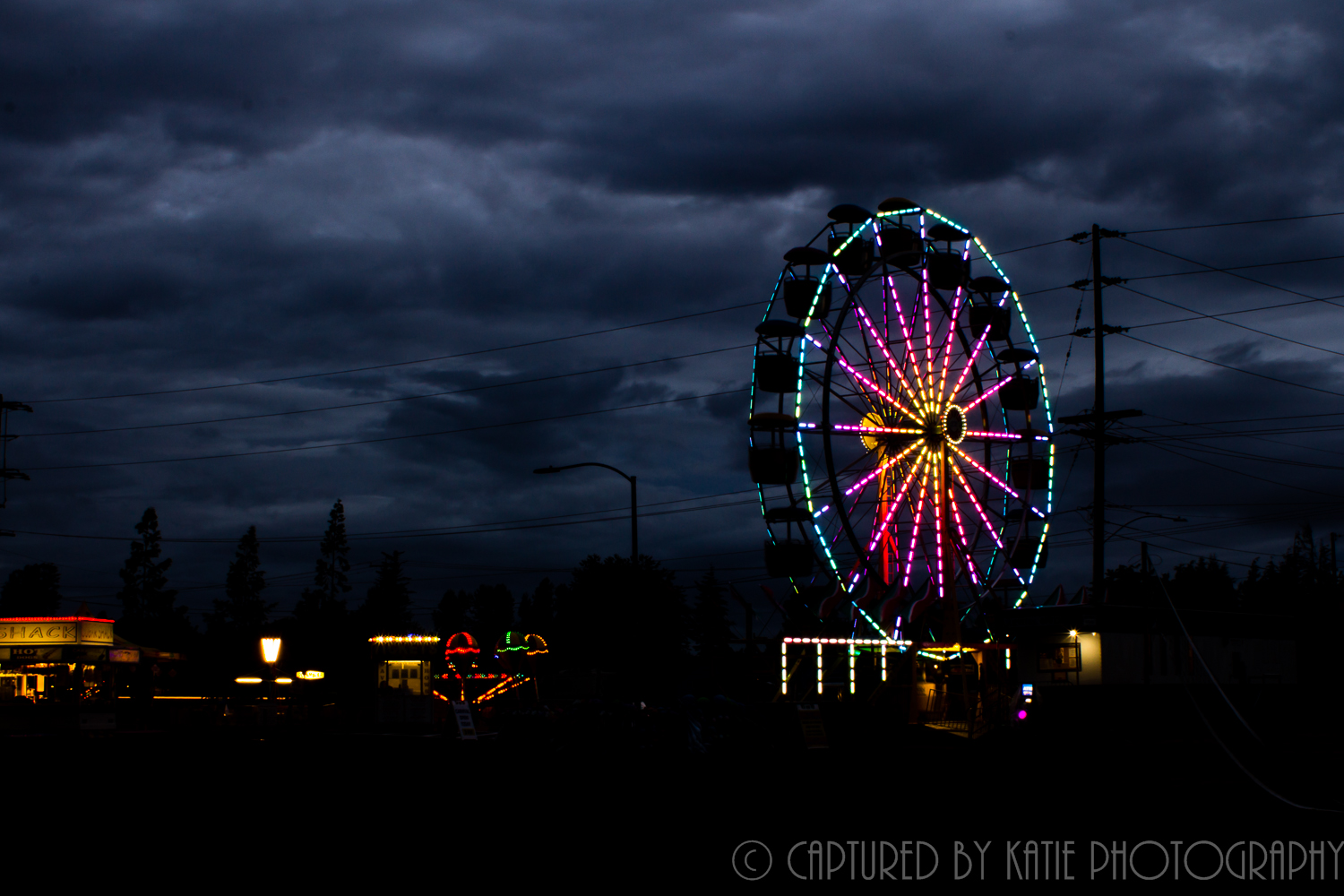 Farris Wheel By Captured By Katie Photography, Bonney Lake Photographer