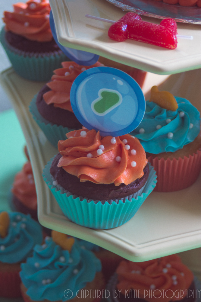 Cupcake Detail By Captured By Katie Photography, Bonney Lake Photographer