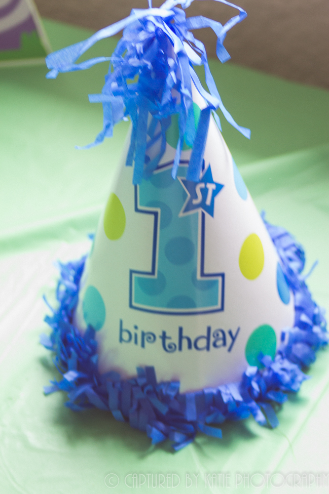Birthday Hat By Captured By Katie Photography, Bonney Lake Photographer
