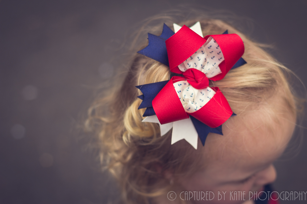Liberty Bow by Captured By Katie Photography, Bonney Lake Photographer