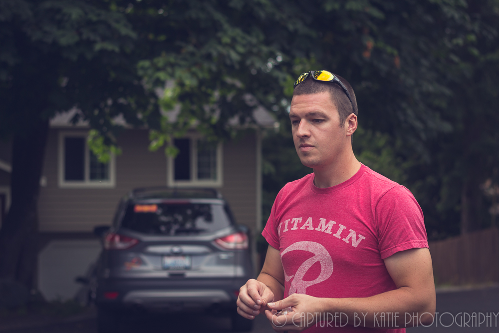 Matt...Keeper Of The Flame by Captured By Katie Photography, Bonney Lake Photographer