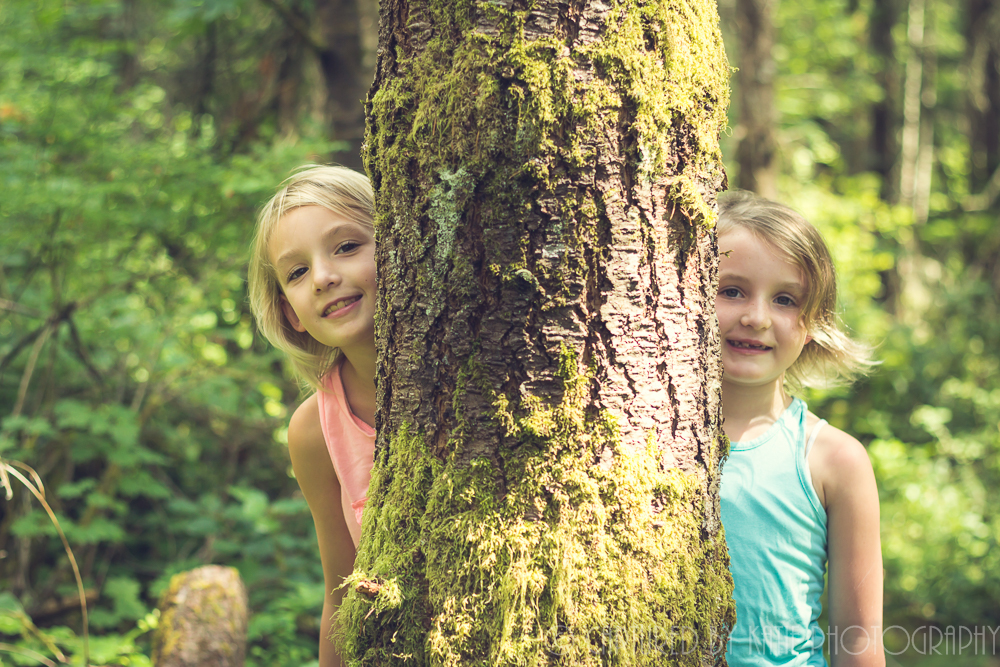 Peek A Tree By Captured By Katie Photography, Bonney Lake Photographer