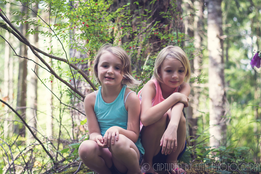 In The Trees By Captured By Katie Photography, Bonney Lake Photographer