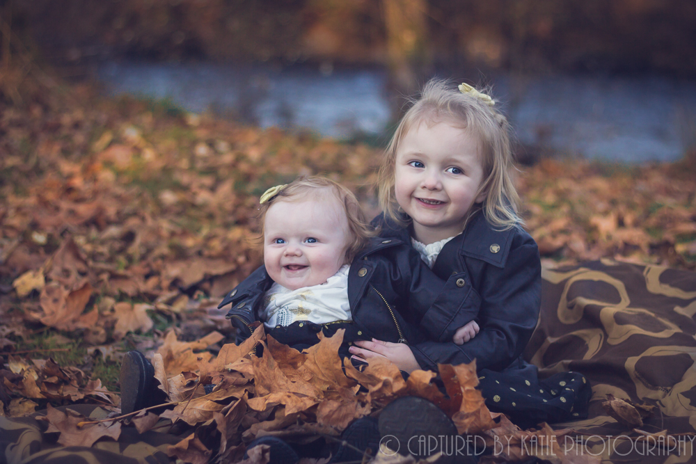 Sisters By Captured By Katie Photography, Bonney Lake Photographer