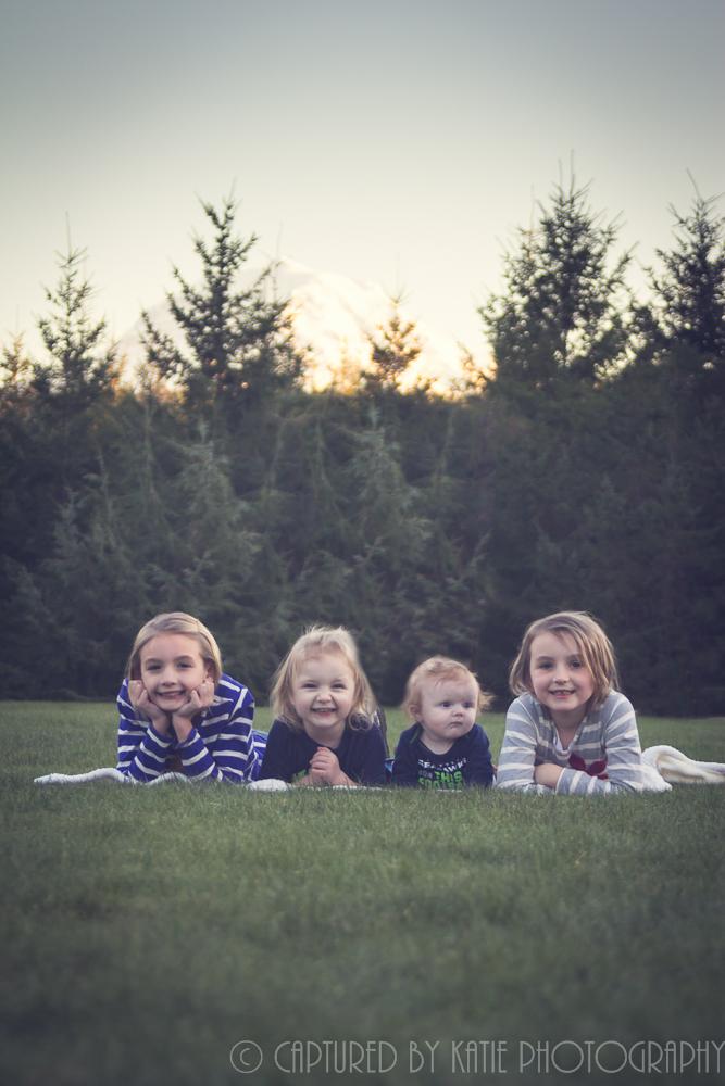 Hamilton/Haubrich Cousins By Captured By Katie Photography, Bonney Lake Photographer