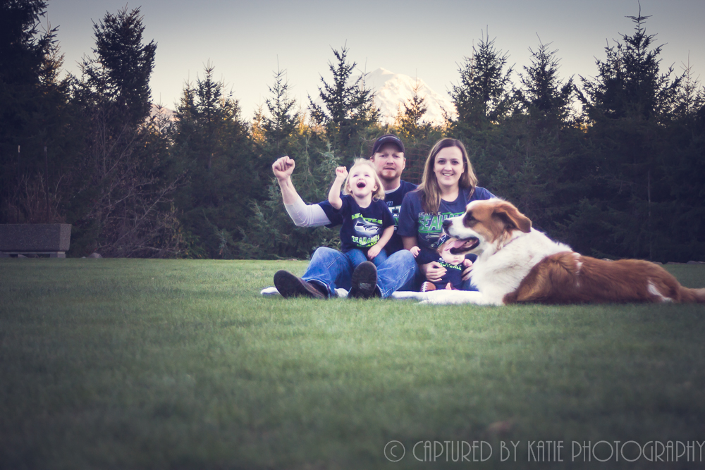 Haubrich Fam By Captured By Katie Photography, Bonney Lake Photographer