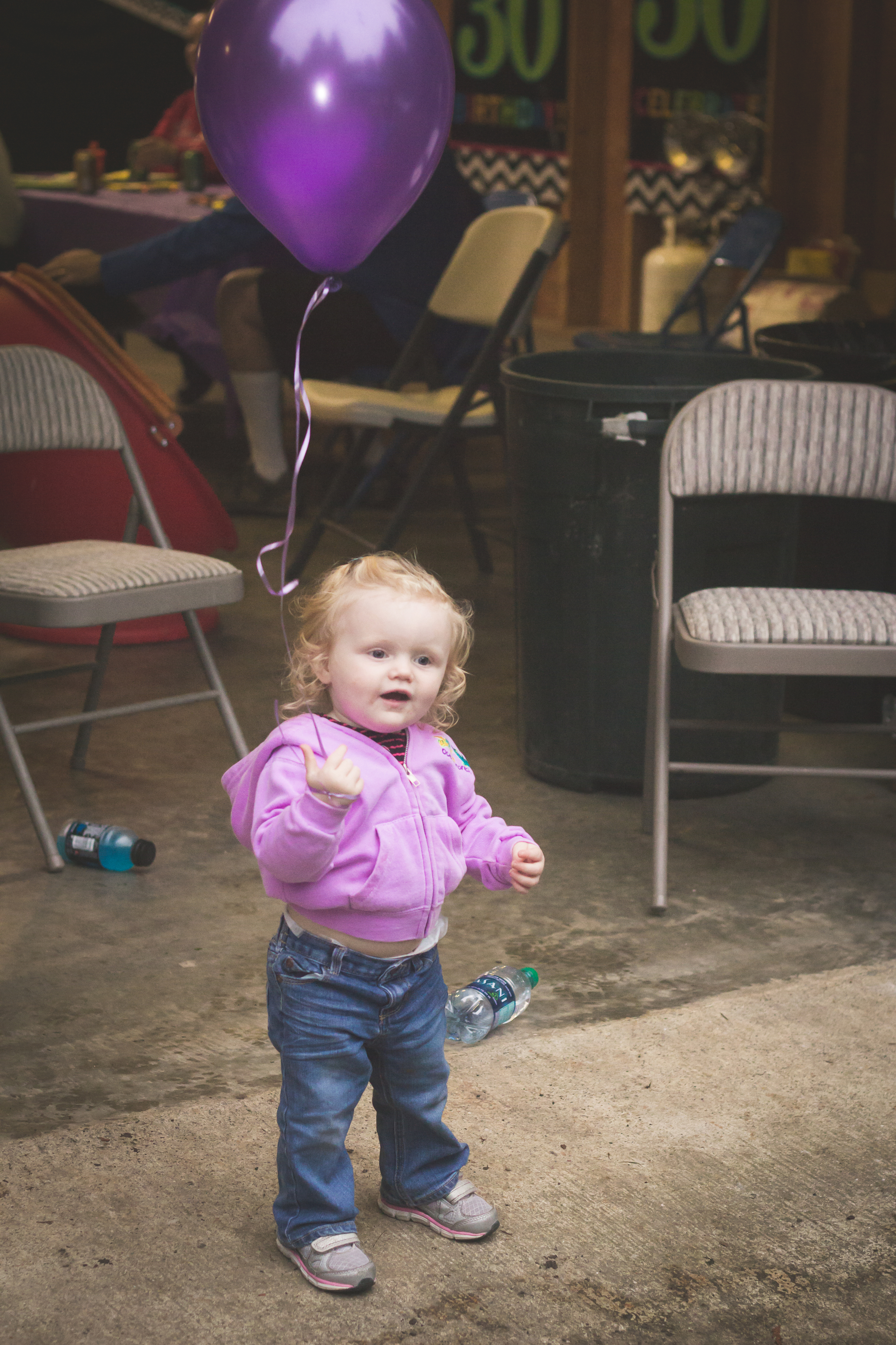 Balloons are a baby's best friend!