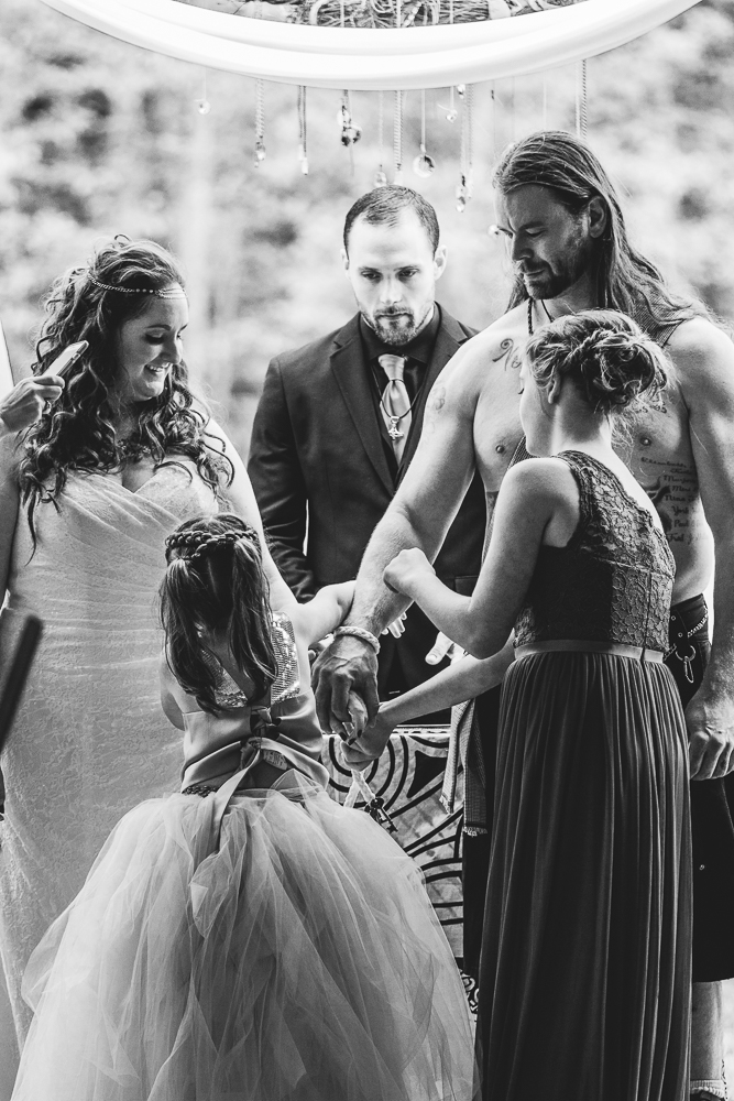 Tying The Knot, Viking Wedding By Captured By Katie Photography, Bonney Lake Photographer