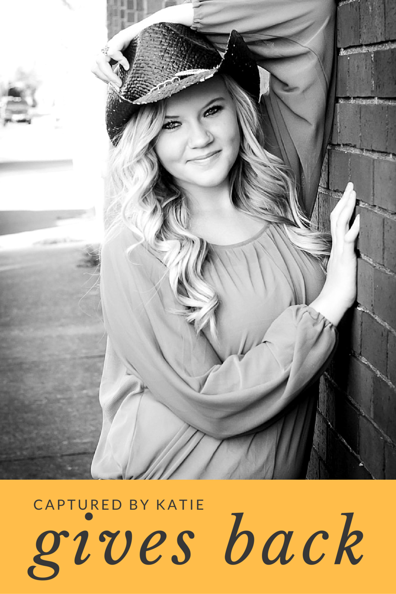 Giving Back By Captured By Katie Photography, Bonney Lake Photographer