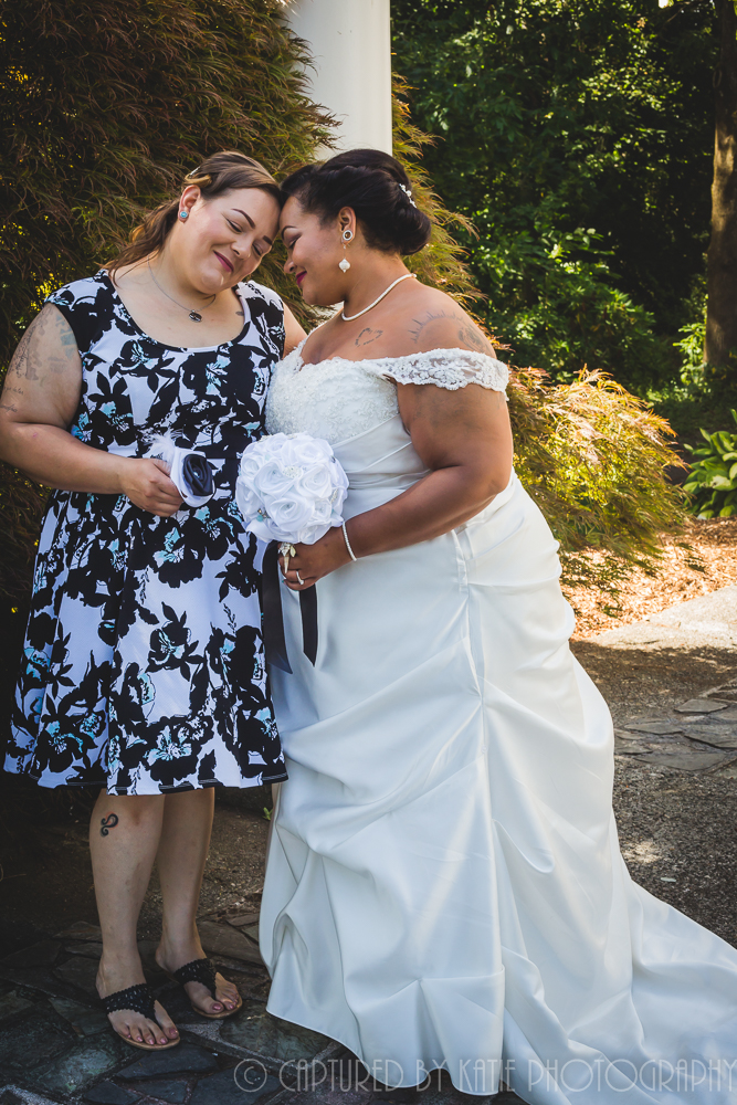 Bride and Bestie By Captured By Katie Photography, Bonney Lake Photographer