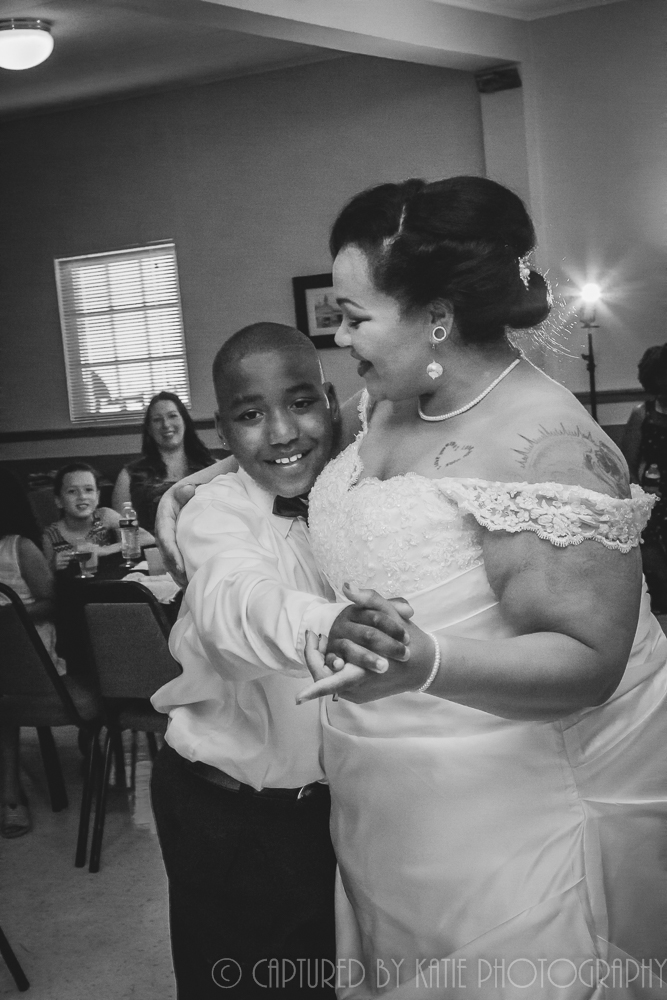 Bride and Nephew By Captured By Katie Photography, Bonney Lake Photographer