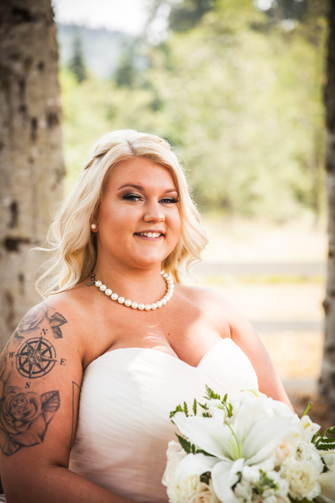 Bride By Captured By Katie Photography, Bonney Lake Wedding Photographer