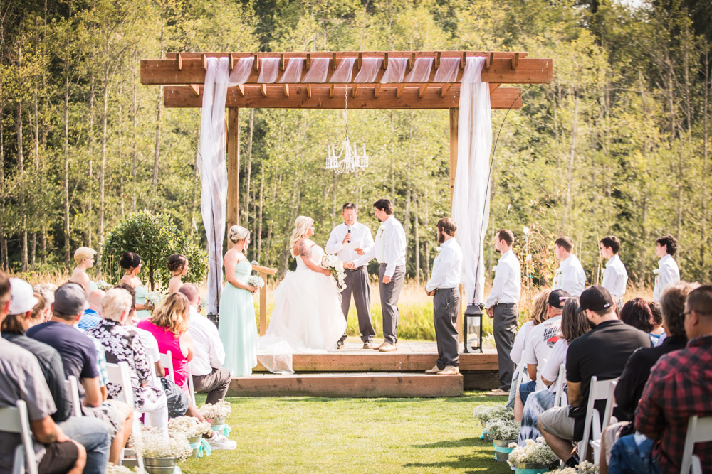 The Ceremony By Captured By Katie Photography, Bonney Lake Wedding Photographer