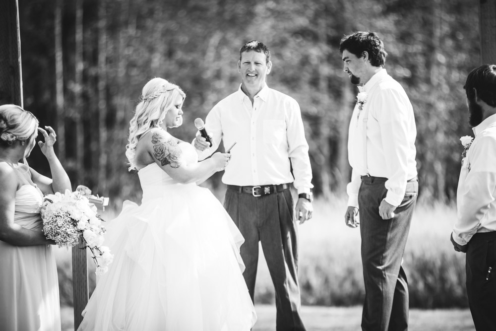 The Vows By Captured By Katie Photography, Bonney Lake Wedding Photographer