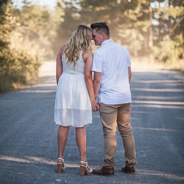 """""""To fall in love is easy, even to remain in it is not difficult; our human loneliness is cause enough. But it is a hard quest worth making to find a comrade through whose steady presence one becomes steadily the person one desires to be."""" – Anna Louise Strong  #love #engagement #enumclawphotographer #capturedbyktphoto #mowich #nature #middleofnowhere #theyaresoinlove"""