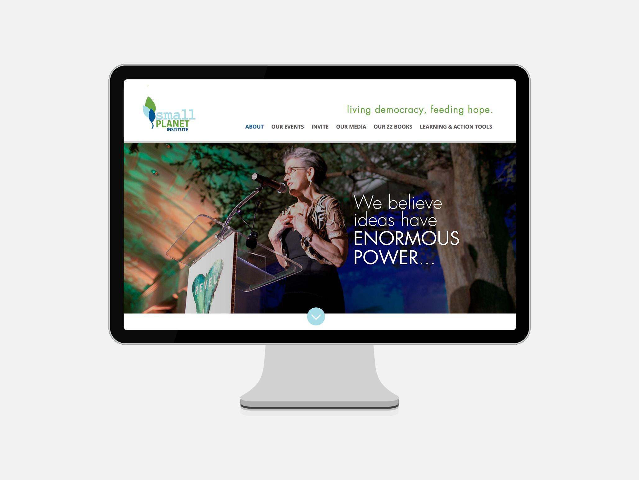 Small Planet Institute Website