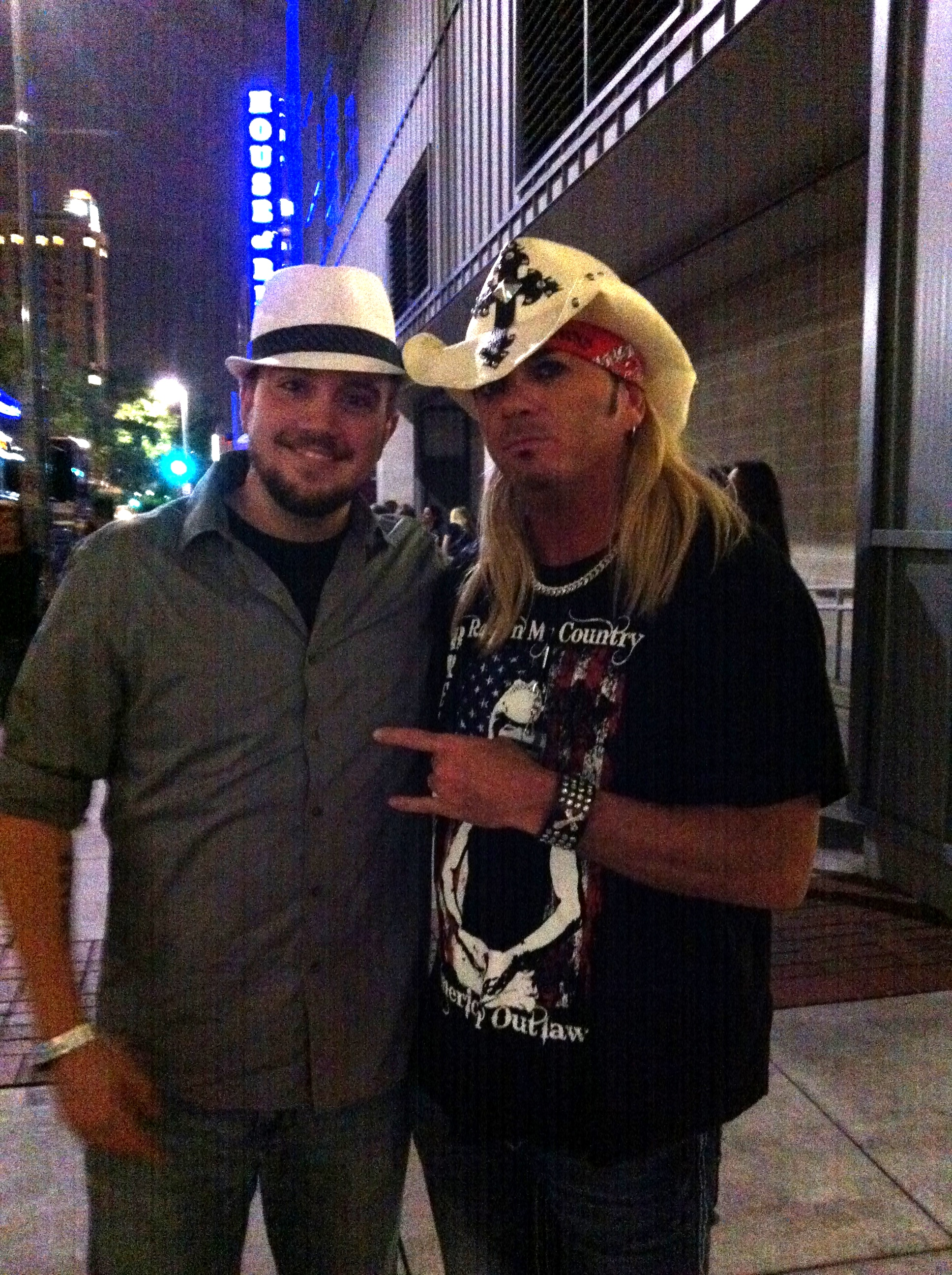Zach with Infamous Rocker Brett Michaels