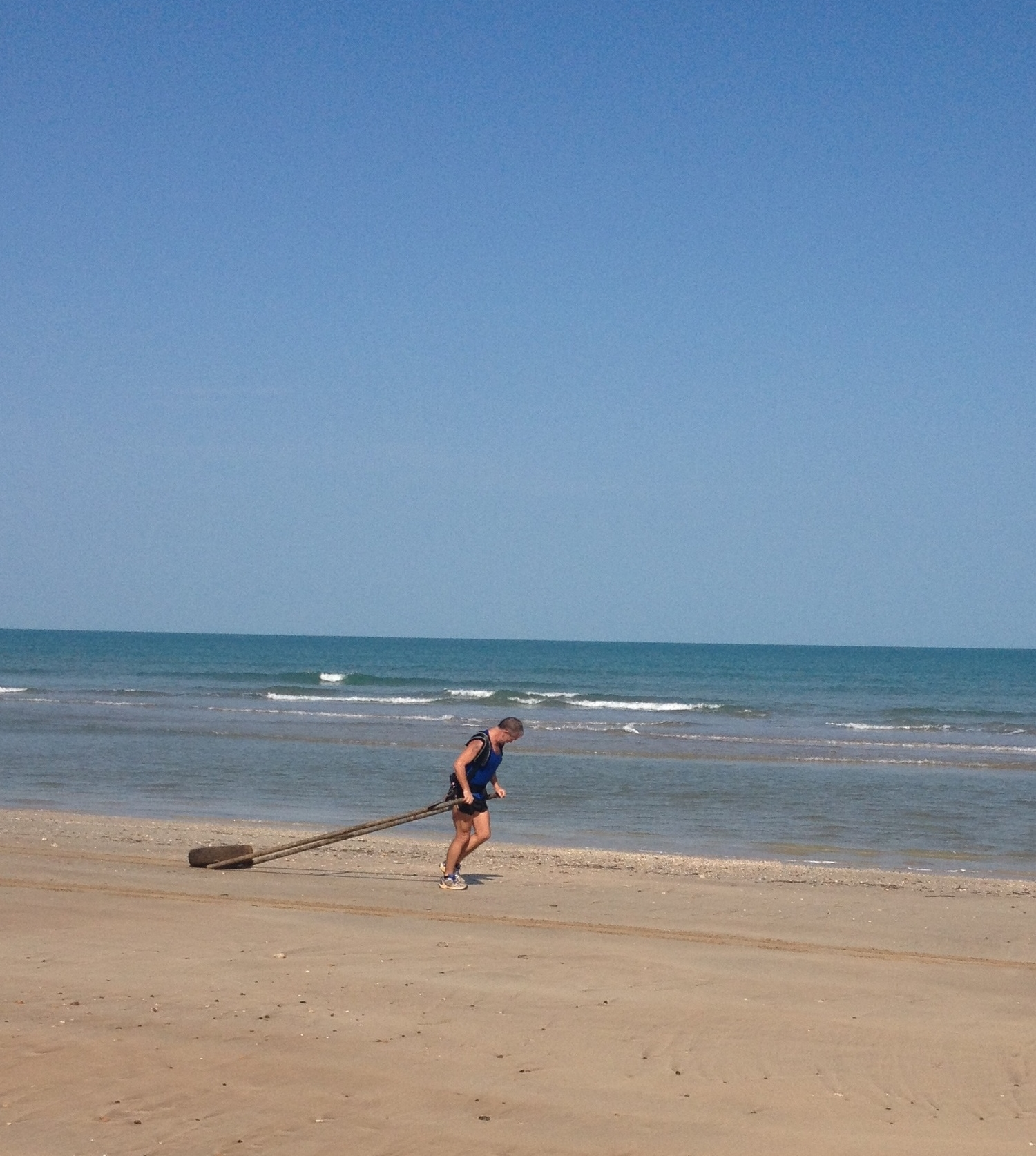 Early days, training at Lee Point, Darwin.