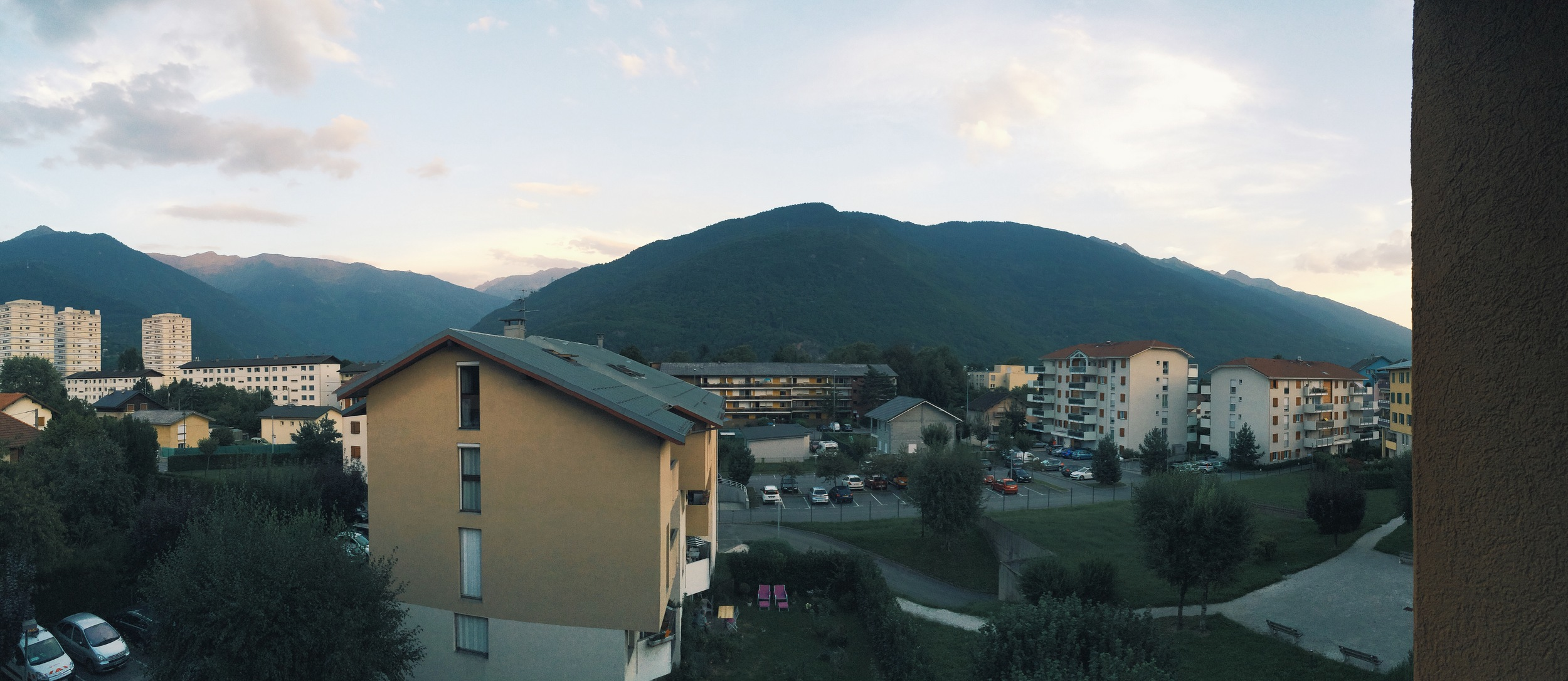 One more view from our balcony.