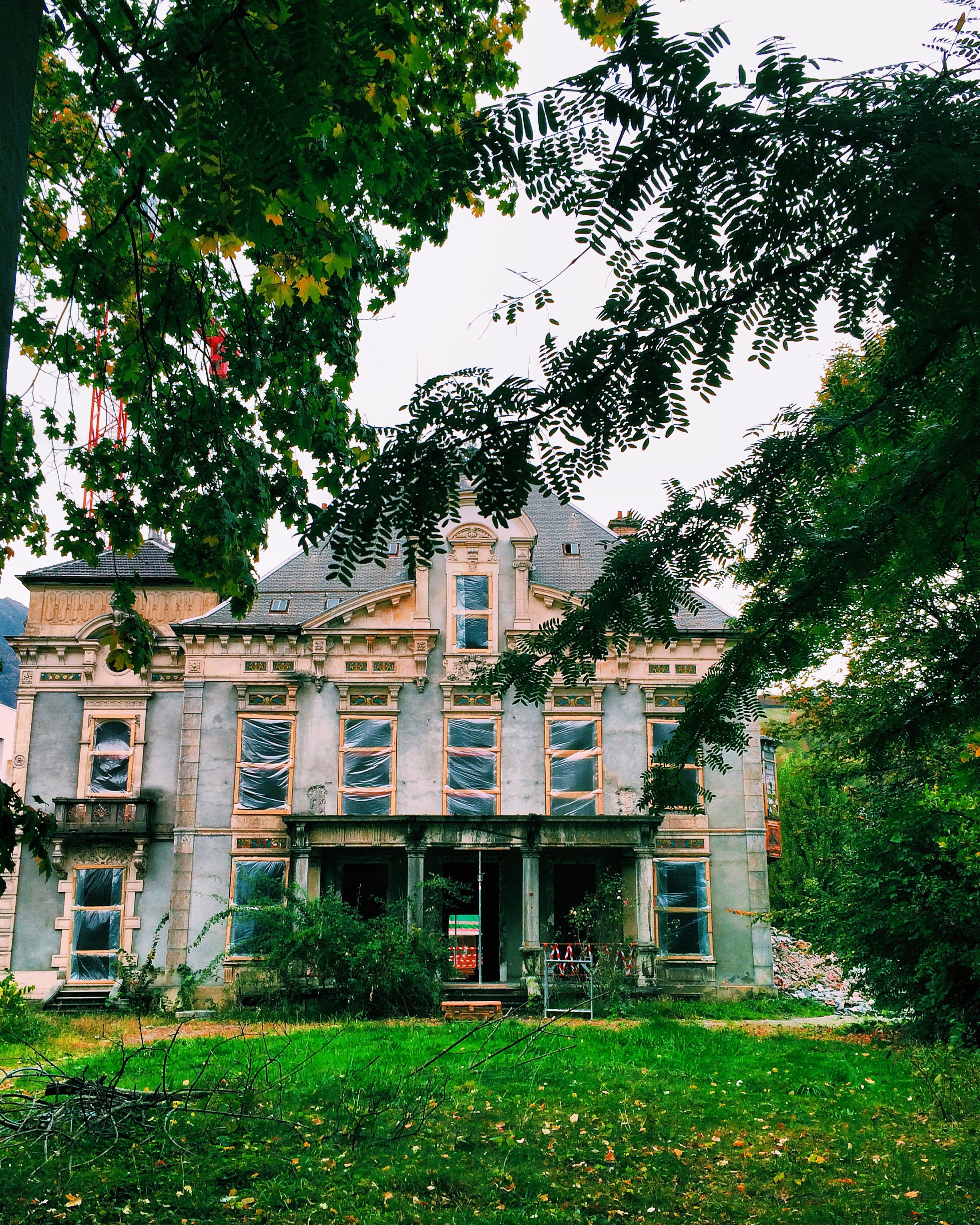 A house that is being restored into a retired living place. I would love to know the history of the place and what life was like for those that lived there.