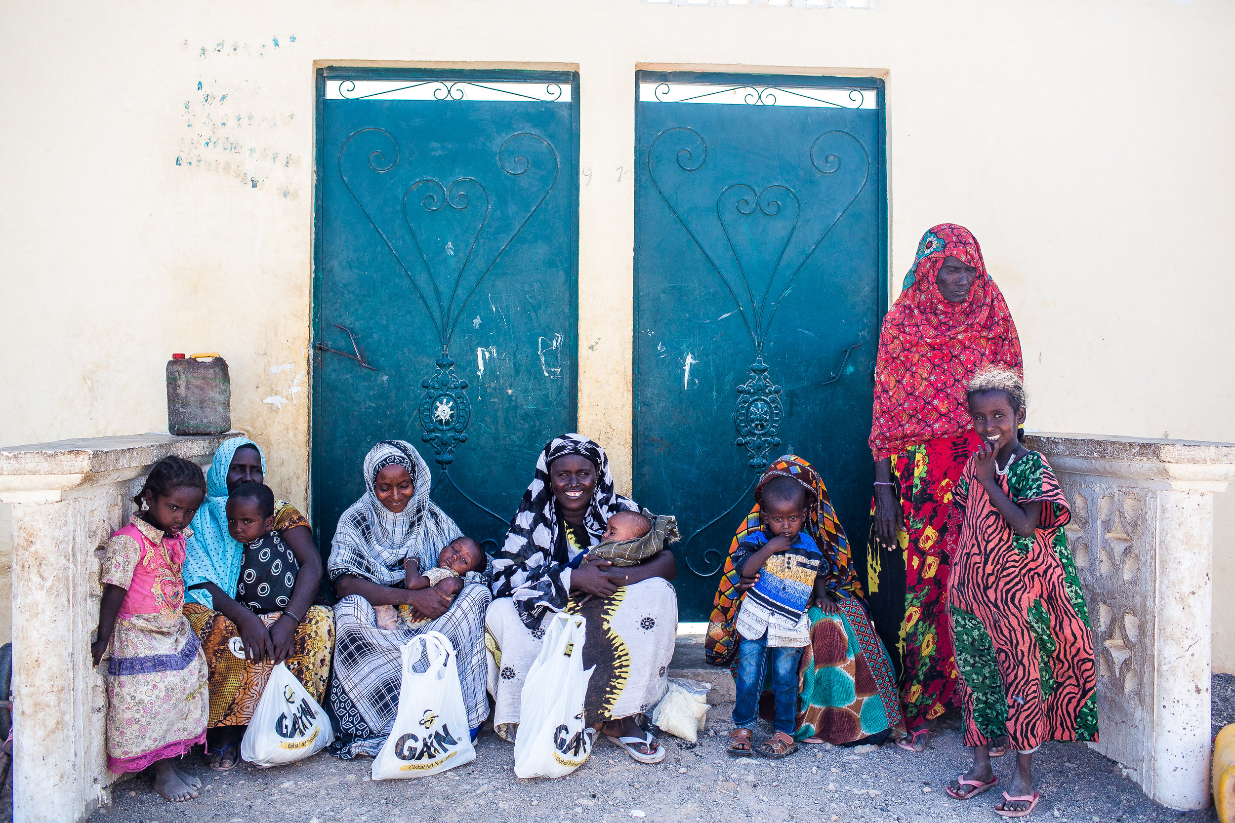 Some mothers and their children I met back in February at a distribution where we gave out food, clothing, and blankets. You can read their stories here:  Life in a Volcanic Desert