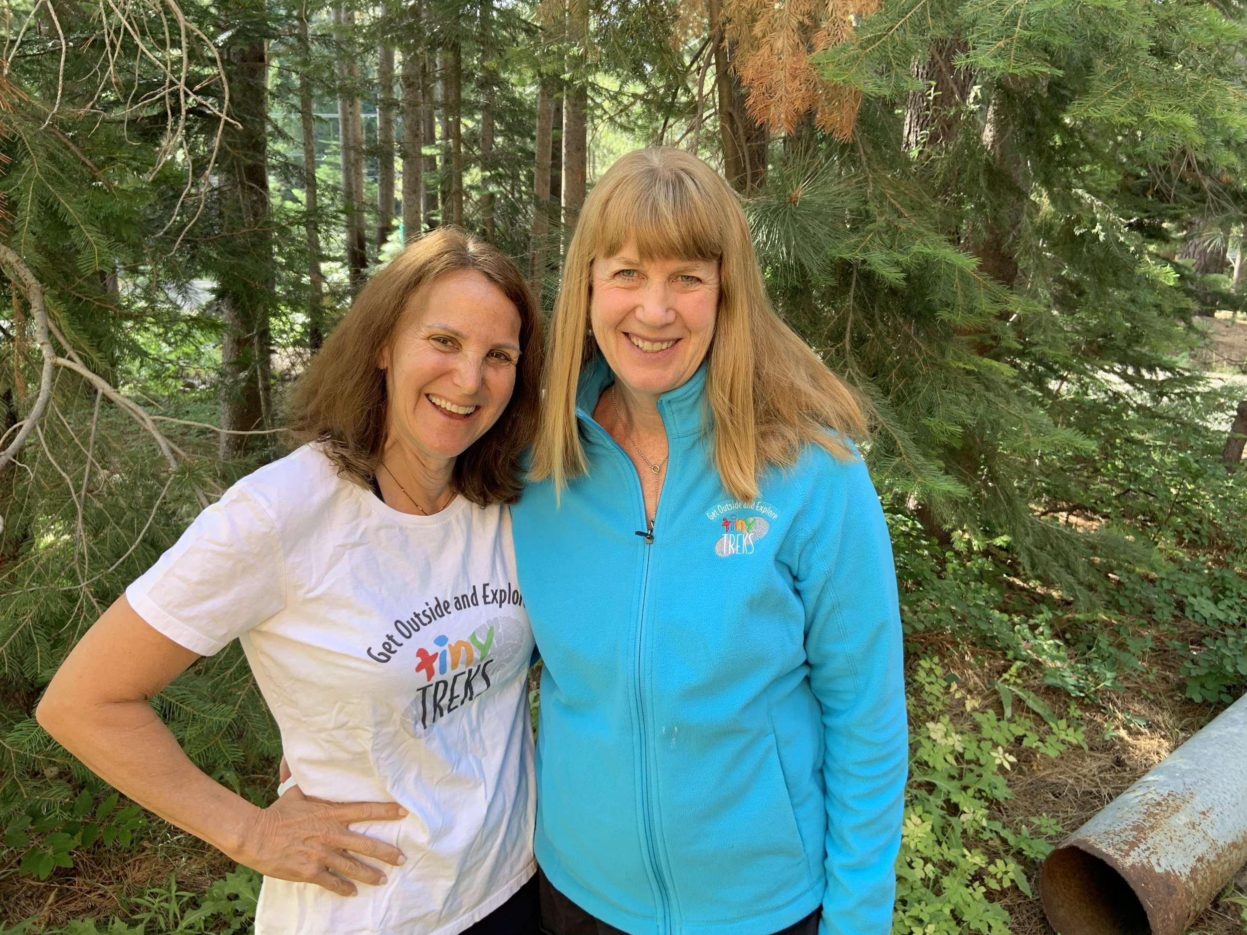 - Directors Pam and Ann hiking at Lake Tahoe, Ca