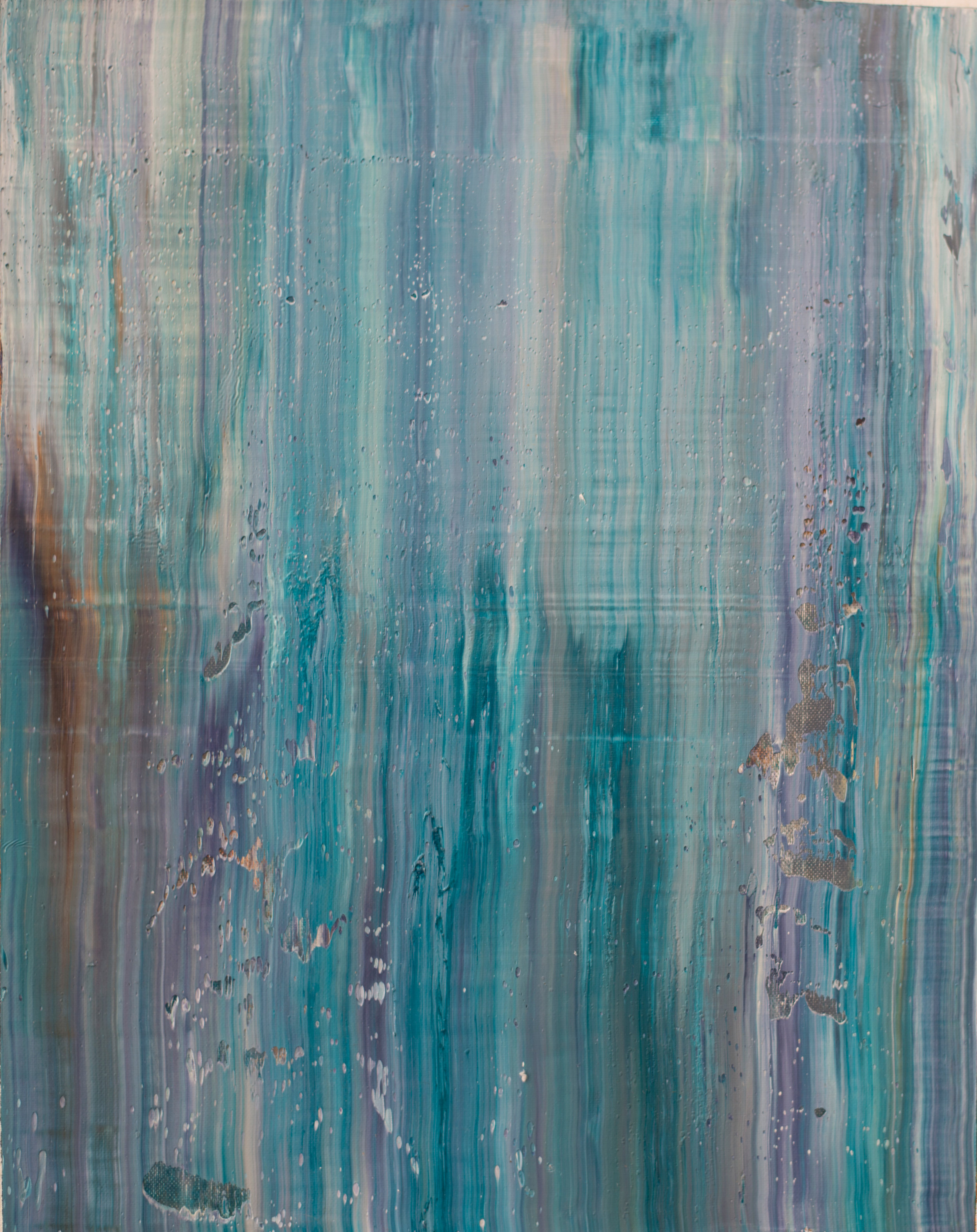 """""""DRIFT"""" is an original, abstract oil painting by Los Angeles based artist, Laura Viapiano."""