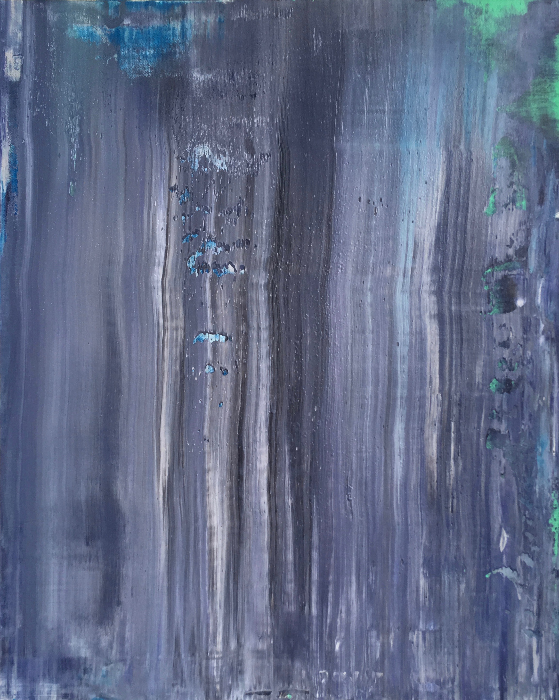 """Wash"" is an original, abstract oil painting created by Los Angeles based artist, Laura Viapiano."