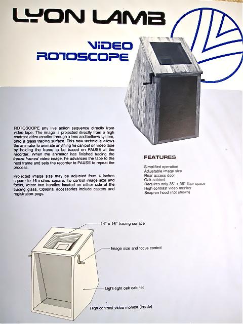 Lyon Lamb Video Rotoscope