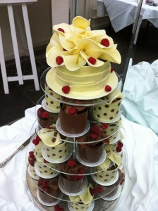 Miniature spotty cakes
