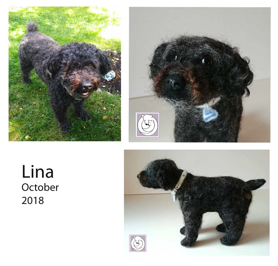 Lina Dog Portrait Oct 2018