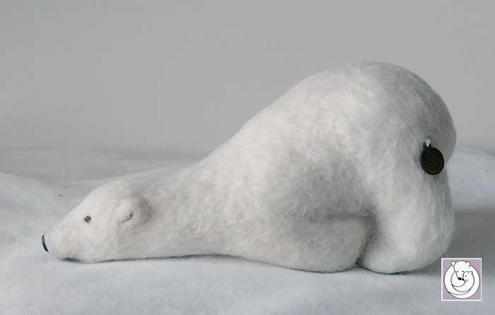 Sliding Polar Bear