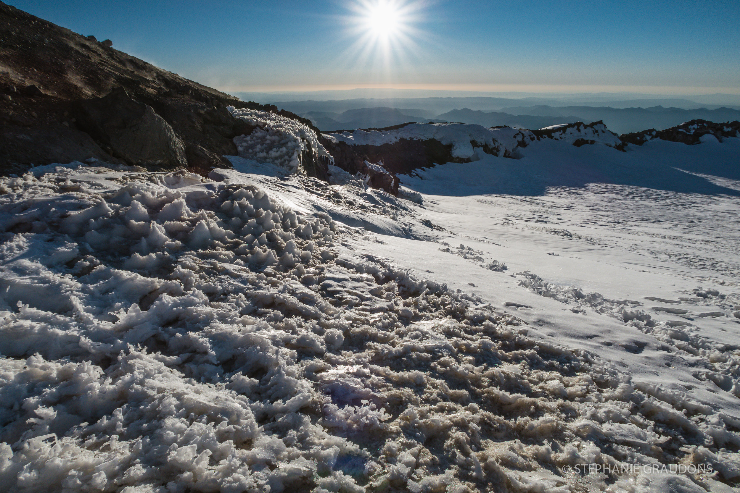 Mount Rainier Summit Crater