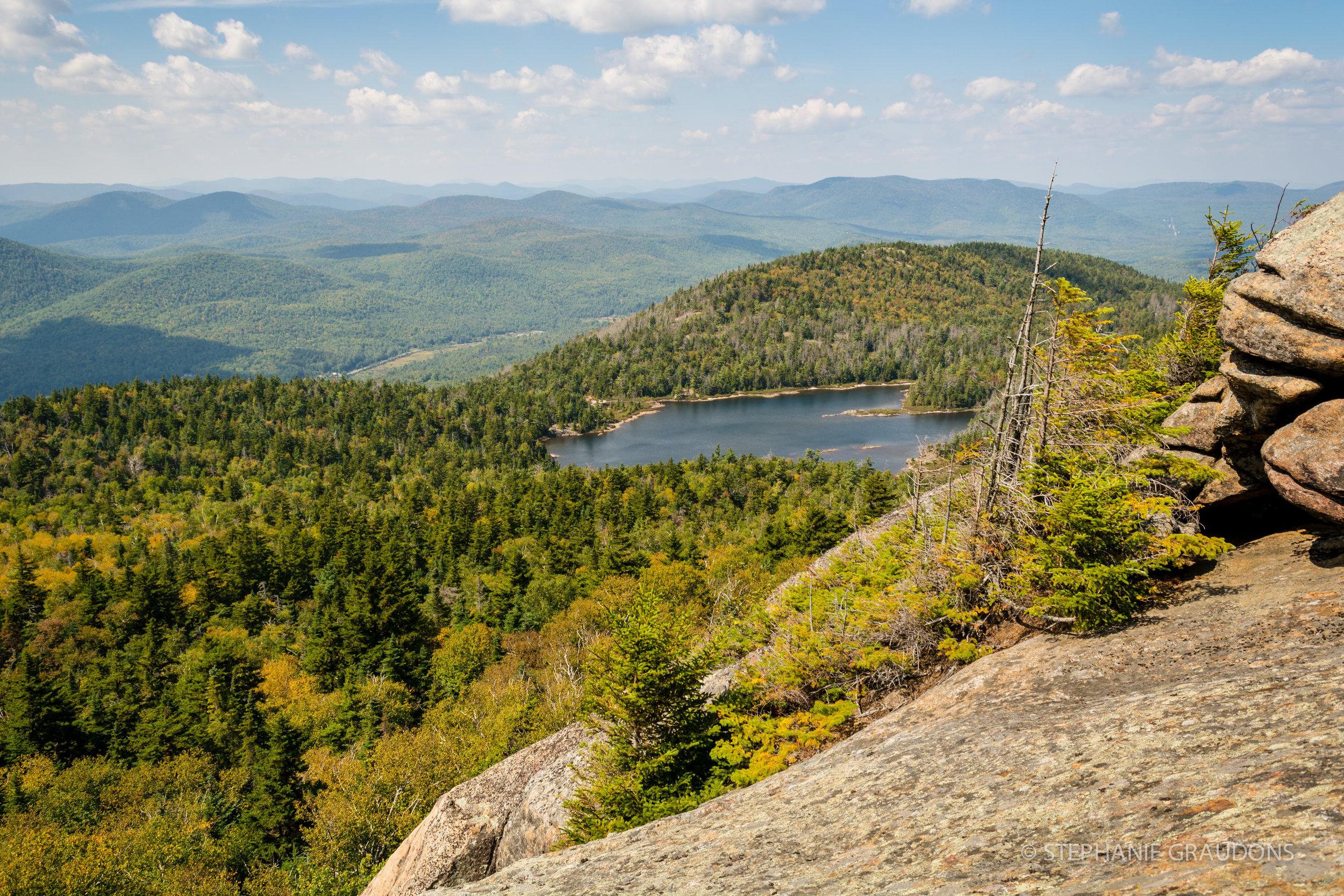 Crane Mountain Pond Overlook