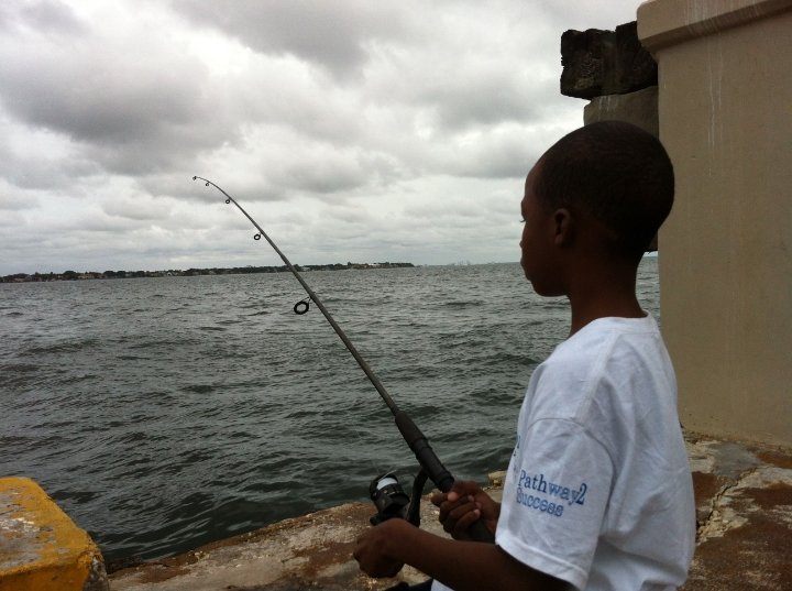 Little Brother Chapter 3 fishing photo