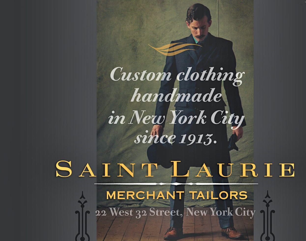 Saint Laurie Merchant Tailors
