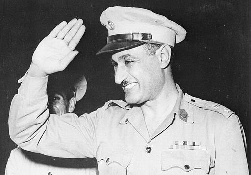 Egyptian President Gamal Abdel Nasser
