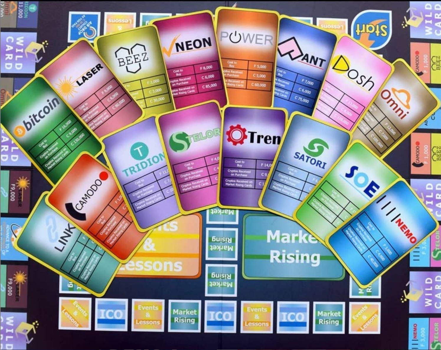 Crypto Millionaire Board Game Board.JPG