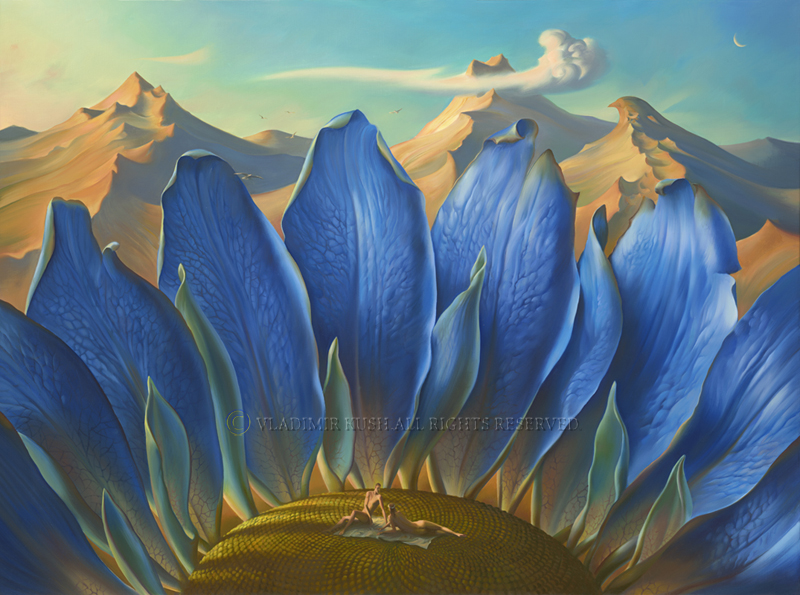 Embody Your Muse - Vladimir Kush - Across the Mountains and Into the Trees