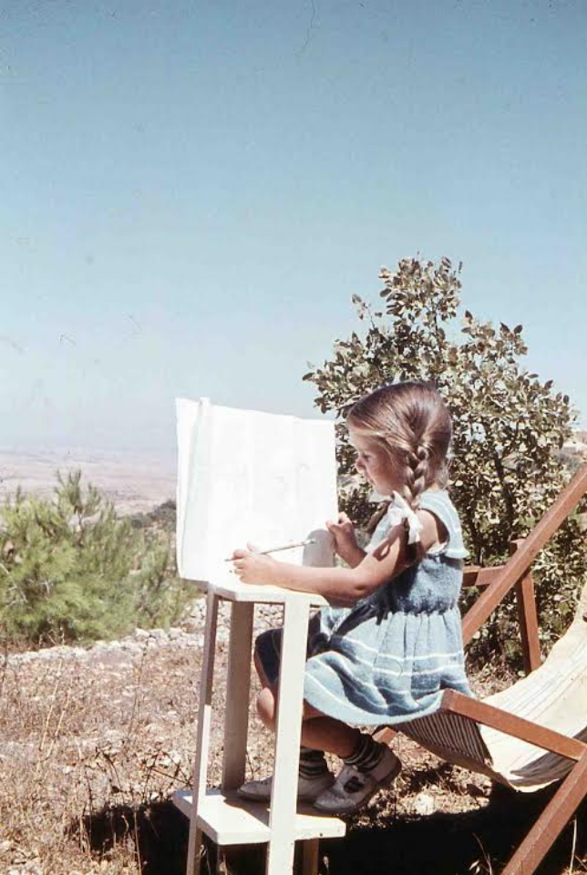 Embody Your Muse - Veronika Bond (as a child)
