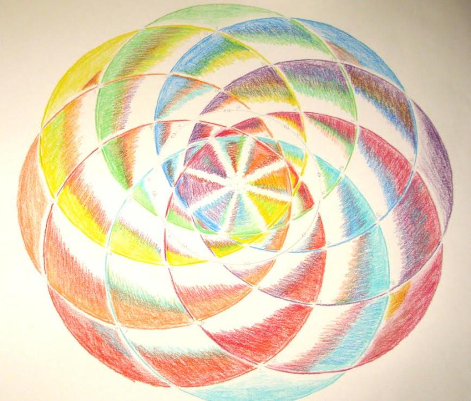 Embody Your Muse - Veronika Bond - Solo System Mandala