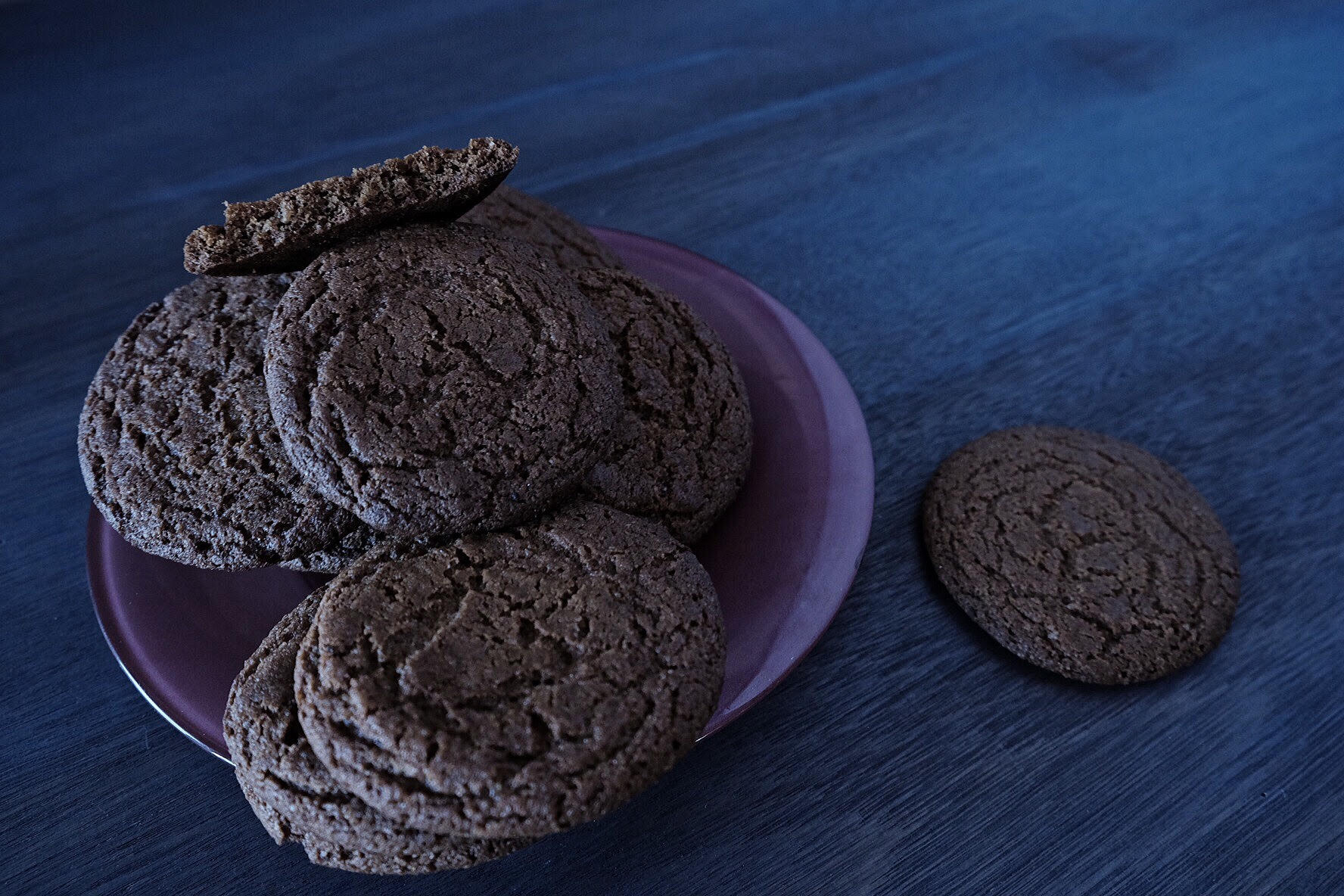 Farmgirl Susan's Molasses Ginger Spice Snap Cookies